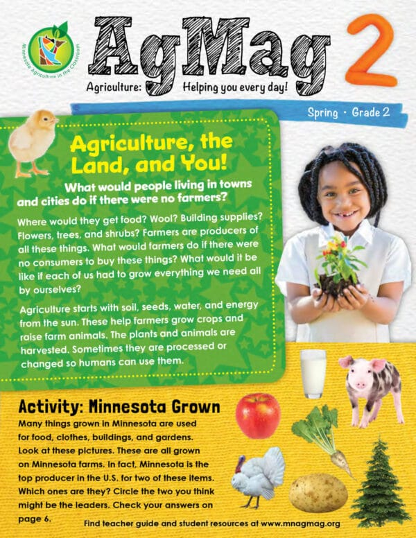Ag Mag second grade resource