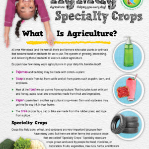 specialty crops infographic